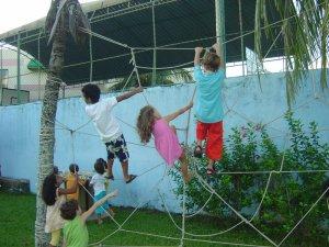 Teia de aranha costuma fazer sucesso entre as crianças