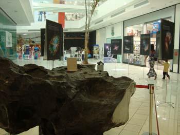 Exposição Os Segredos dos Meteoritos