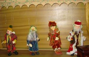 Marionetes no Shopping Barra